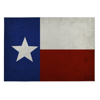 Hatboro Texas Flag Doormat