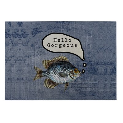 Kohn Fish Good Morning Gorgeous Doormat