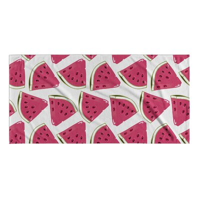 Water Mellon Beach Towel