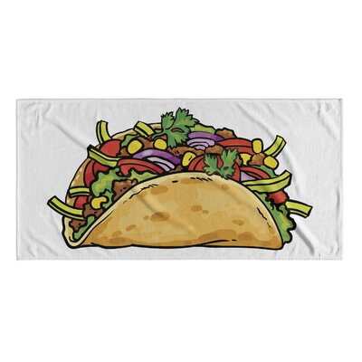 Taco Beach Towel