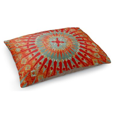 Moroccan Pet Pillow Color: Orange/Green