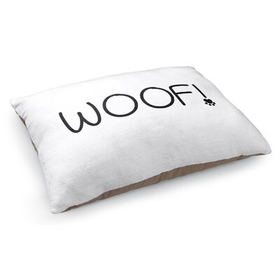 Woof Pet Pillow