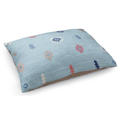 Barroui Pet Pillow Color: Blue
