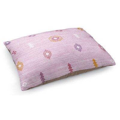Barroui Pet Pillow Color: Pink