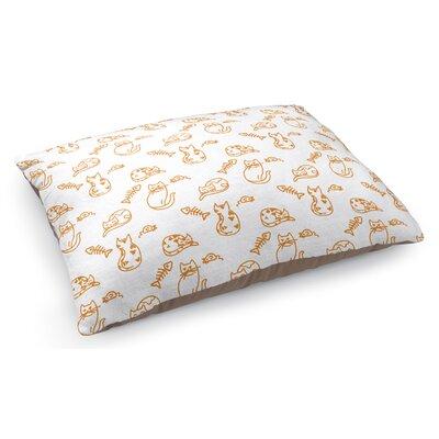 Kimberly Doodle Cat Pillow