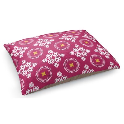 Scrolled Floral Pet Pillow