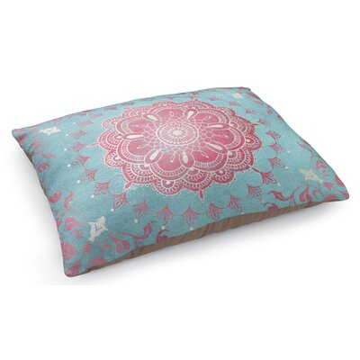 Boho Bloom Turquoise Pet Pillow