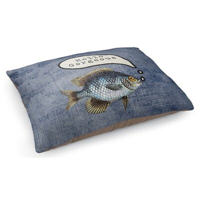 Fish Good Morning Gorgeous Pet Pillow