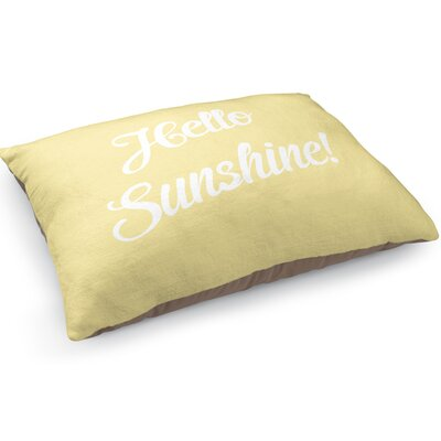 Hello Sunshine Pet Pillow