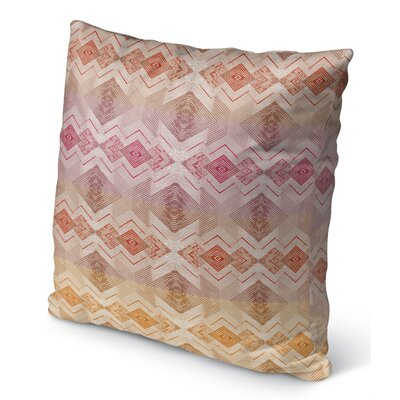 Miranda Indoor/Outdoor Throw Pillow Size: 16 H x 16 W x 6 D