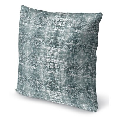 Di Distressed Throw Pillow Size: 16 H x 16 W x 6 D