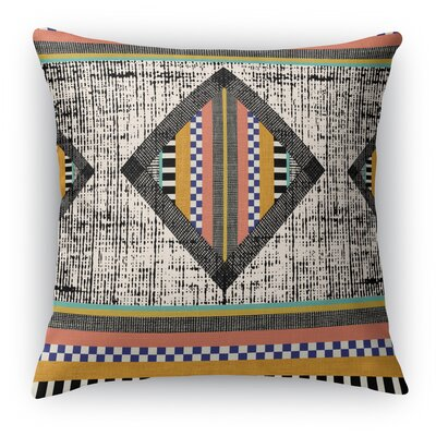 Wiggins Orange Throw Pillow Size: 24 H x 24 W x 6 D