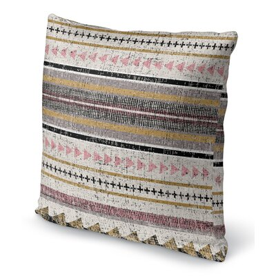 Duffin Stripe Throw Pillow Size: 16 H x 16 W x 6 D