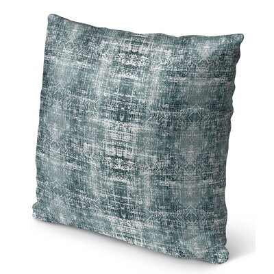 Diahna Distressed Indoor/Outdoor Throw Pillow Size: 16 H x 16 W x 6 D