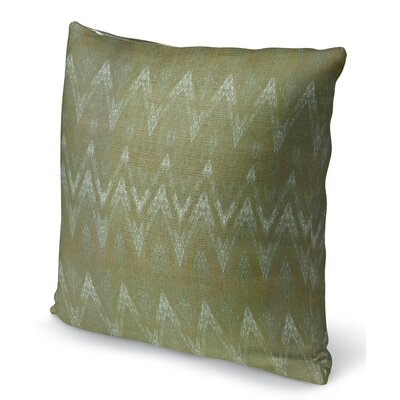 Marshall Green Throw Pillow Size: 16 H x 16 W x 6 D