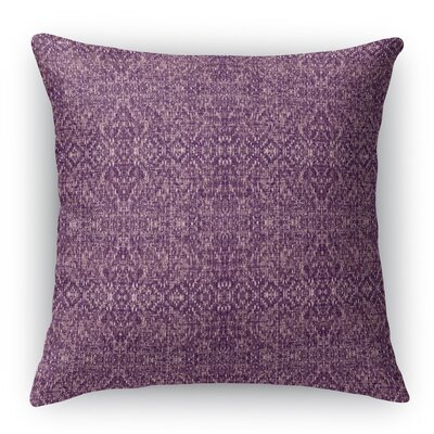 Dezirae Purple Throw Pillow Size: 16