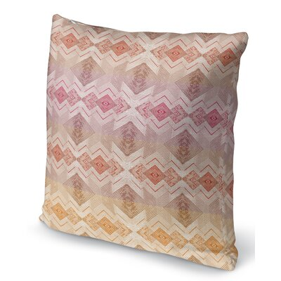 Miranda Square Throw Pillow Size: 16 H x 16 W x 6 D
