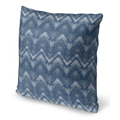 Marshall Blue Throw Pillow Size: 16 H x 16 W x 6 D