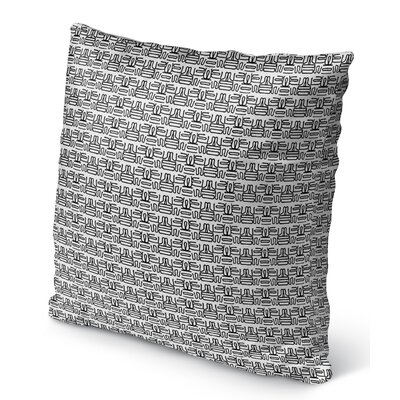 Graves Indoor/Outdoor Throw Pillow Size: 16 H x 16 W x 6 D