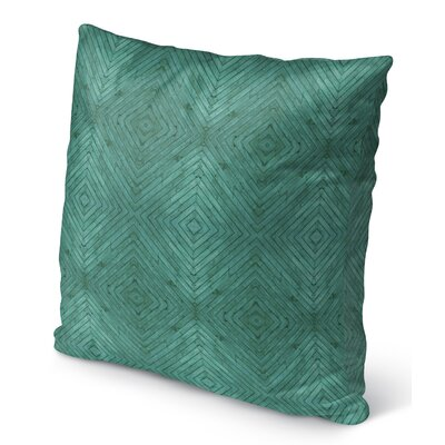 Bruns Wood Indoor/Outdoor Throw Pillow Size: 16 H x 16 W x 6 D