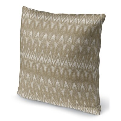 Marshall Gold Throw Pillow Size: 16 H x 16 W x 6 D