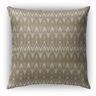Marshall Gold Indoor/Outdoor Throw Pillow Size: 16 H x 16 W x 6 D