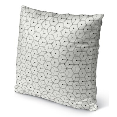 Velez Indoor/Outdoor Throw Pillow Size: 16 H x 16 W x 6 D
