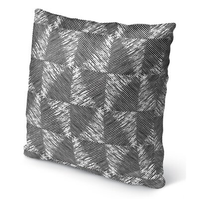 Wiggins Square Indoor/Outdoor Throw Pillow Size: 16 H x 16 W x 6 D