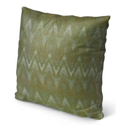 Marshall Green Indoor/Outdoor Throw Pillow Size: 16 H x 16 W x 6 D