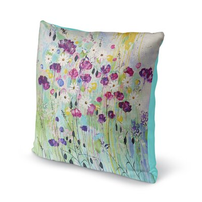 Cheree Floral Throw Pillow Size: 16 x 16