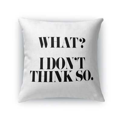 Chelsi Indoor/Outdoor Throw Pillow Size: 16 H x 16 W x 8 D