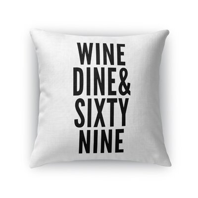 Rourke Sixtynine Indoor/Outdoor Throw Pillow Size: 16 H x 16 W x 8 D