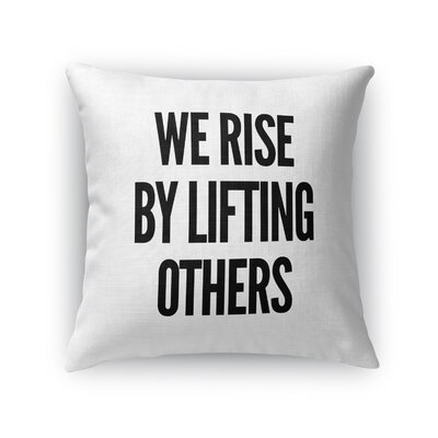 Lochian Indoor/Outdoor Throw Pillow Size: 16 H x 16 W x 8 D