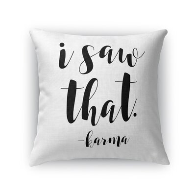 Corvus Indoor/Outdoor Throw Pillow Size: 16 H x 16 W x 8 D