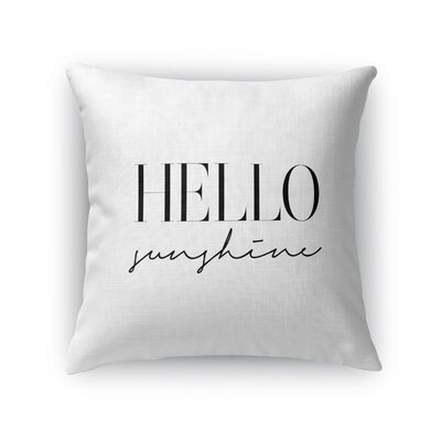 Davey Indoor/Outdoor Throw Pillow Size: 16 H x 16 W x 8 D