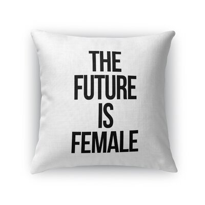 Etna Female Indoor/Outdoor Throw Throw Pillow Size: 16 H x 16 W x 8 D