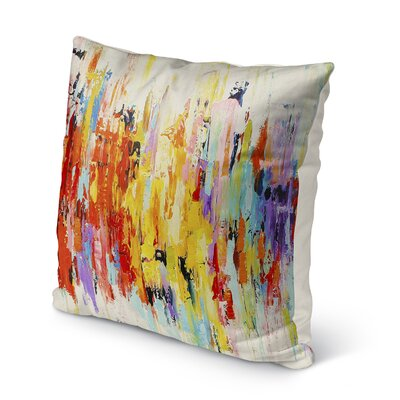 Sieber Abstract Indoor/Outdoor Throw Pillow Size: 16 H x 16 W x 8 D