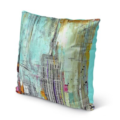 Charlotta Indoor/Outdoor Throw Pillow Size: 16 H x 16 W x 8 D