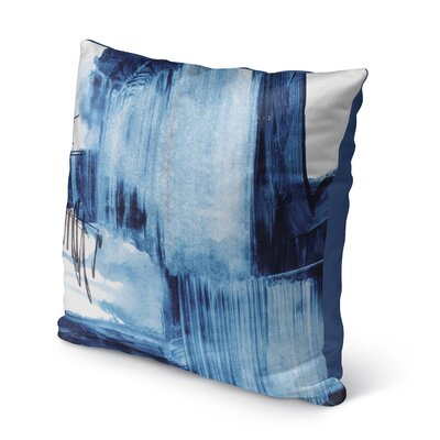 Kingston Blue Set Three Indoor/Outdoor Pillow Size: 16 H x 16 W x 8 D