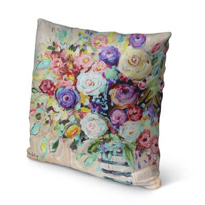 Mittler Indoor/Outdoor Throw Pillow Size: 16 H x 16 W x 8 D