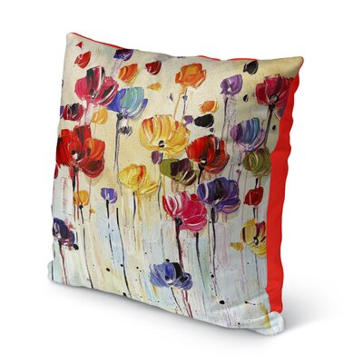 Isaiah Indoor/Outdoor Throw Pillow Size: 16 H x 16 W x 8 D