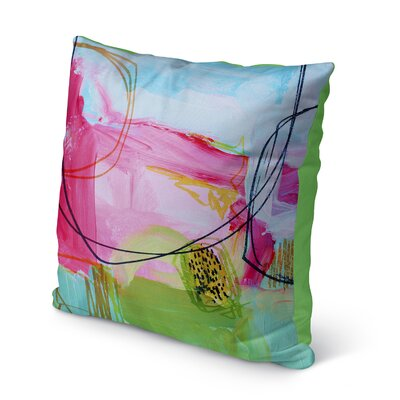 Moriann Indoor/Outdoor Pillow Size: 16 H x 16 W x 8 D