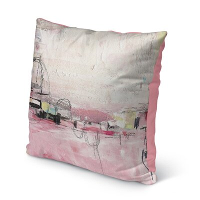 Chaunte Indoor/Outdoor Throw Pillow Size: 16 H x 16 W x 8 D