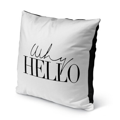 Lucia Indoor/Outdoor Throw Pillow Size: 18 H x 18 W x 8 D
