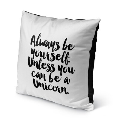 Coleman Indoor/Outdoor Throw Pillow Size: 16 H x 16 W x 8 D
