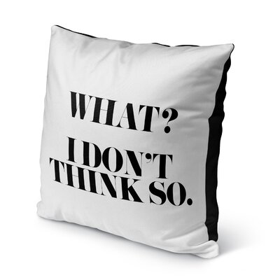 Chelsi Indoor/Outdoor Throw Pillow Size: 16 H x 16 W x 8 D