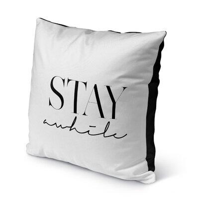 Leda Indoor/Outdoor Throw Pillow Size: 16 H x 16 W x 8 D