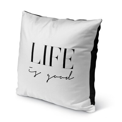 Charla Indoor/Outdoor Throw Pillow Size: 16 H x 16 W x 8 D