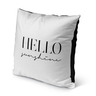 Davey Indoor/Outdoor Throw Pillow Size: 16 H x 16 W x 8 D