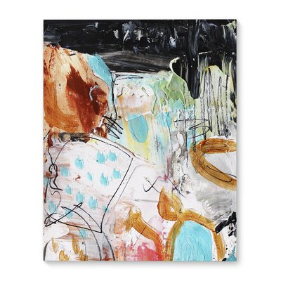 'Druck' Print on Canvas Size: 20